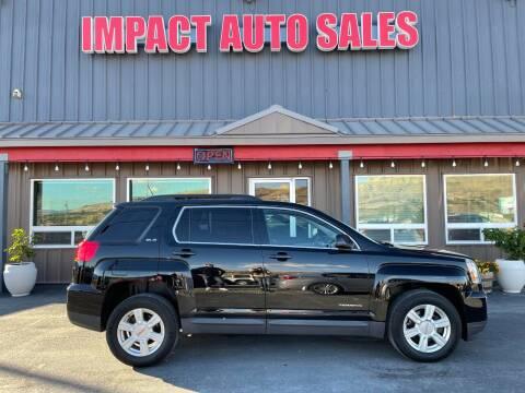 2016 GMC Terrain for sale at Impact Auto Sales in Wenatchee WA