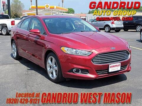 2016 Ford Fusion for sale at GANDRUD CHEVROLET in Green Bay WI