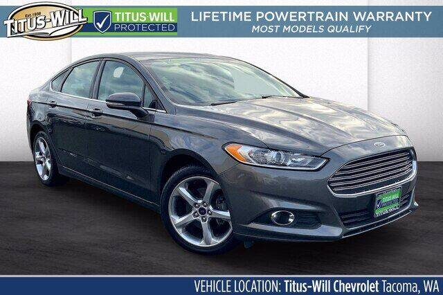 2015 Ford Fusion for sale in Parkland, WA