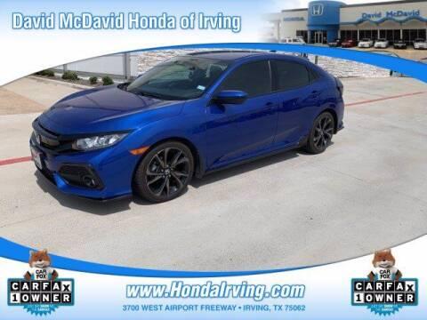 2019 Honda Civic for sale at DAVID McDAVID HONDA OF IRVING in Irving TX