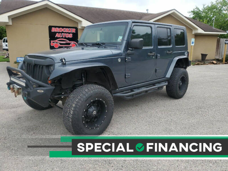 2008 Jeep Wrangler Unlimited for sale at Brocker Autos in Humble TX