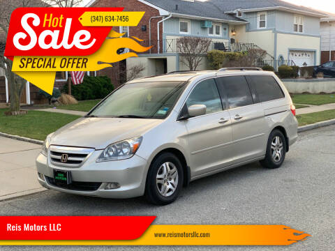 2005 Honda Odyssey for sale at Reis Motors LLC in Lawrence NY
