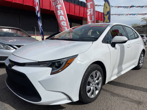 2020 Toyota Corolla for sale at Duke City Auto LLC in Gallup NM