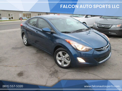 2013 Hyundai Elantra for sale at Falcon Auto Sports LLC in Murray UT