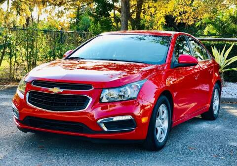 2015 Chevrolet Cruze for sale at Sunshine Auto Sales in Oakland Park FL