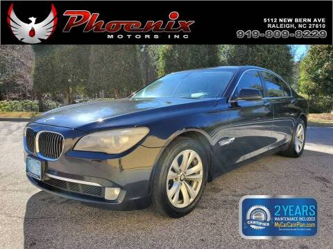 2011 BMW 7 Series for sale at Phoenix Motors Inc in Raleigh NC