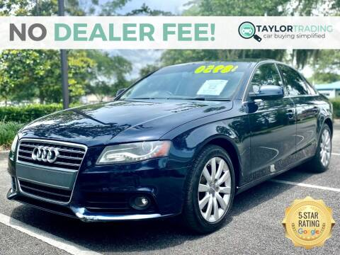 2011 Audi A4 for sale at Taylor Trading in Orange Park FL