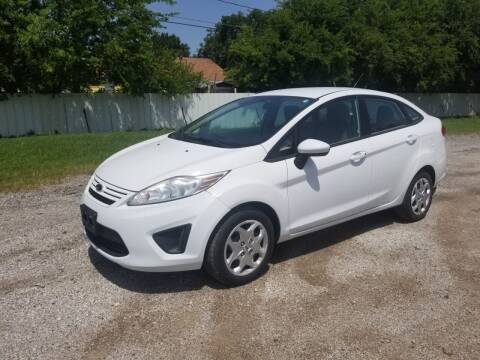 2013 Ford Fiesta for sale at El Jasho Motors in Grand Prairie TX