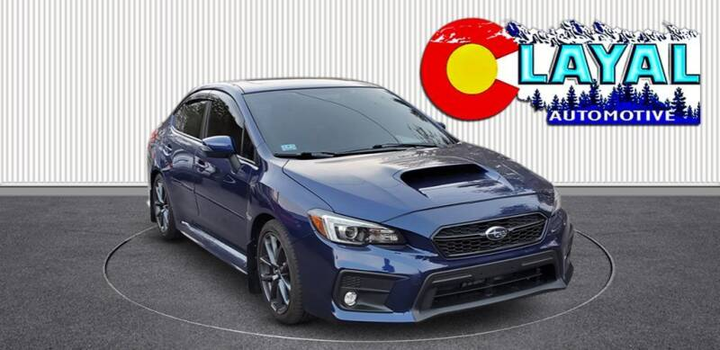 2018 Subaru WRX for sale at Layal Automotive in Englewood CO
