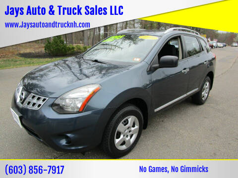 2014 Nissan Rogue Select for sale at Jays Auto & Truck Sales LLC in Loudon NH