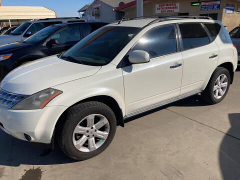 2006 Nissan Murano for sale at CONTINENTAL AUTO EXCHANGE in Lemoore CA