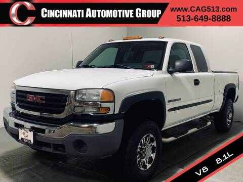 2006 GMC Sierra 2500HD for sale at Cincinnati Automotive Group in Lebanon OH