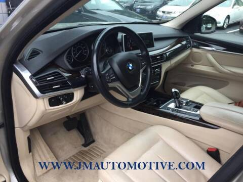 2015 BMW X5 for sale at J & M Automotive in Naugatuck CT