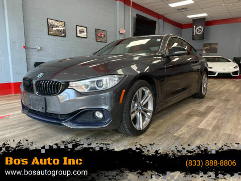 2015 BMW 4 Series for sale at Bos Auto Inc in Quincy MA