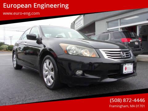2008 Honda Accord for sale at European Engineering in Framingham MA