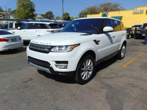 2016 Land Rover Range Rover Sport for sale at Santa Monica Suvs in Santa Monica CA