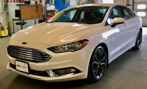 2018 Ford Fusion for sale at Reinecke Motor Co in Schuyler NE