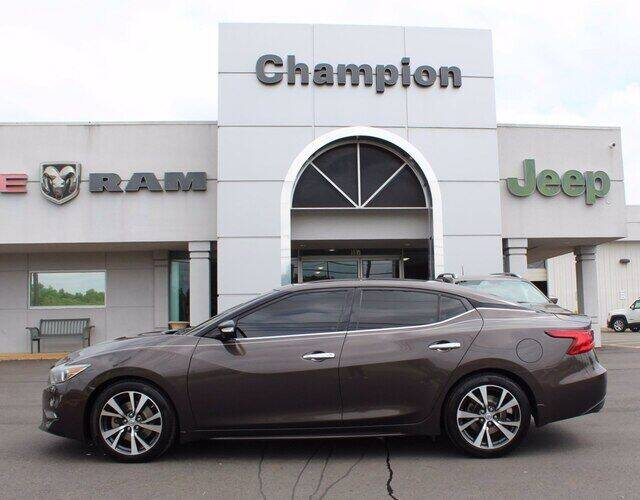 2016 Nissan Maxima for sale at Champion Chevrolet in Athens AL