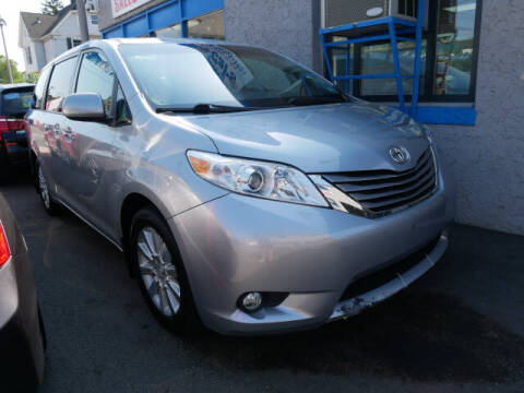 2015 Toyota Sienna for sale at M & R Auto Sales INC. in North Plainfield NJ