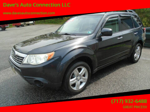 2009 Subaru Forester for sale at Dave's Auto Connection LLC in Etters PA