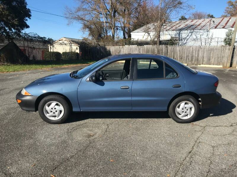 1998 Chevrolet Cavalier for sale at Mike's Auto Sales of Charlotte in Charlotte NC