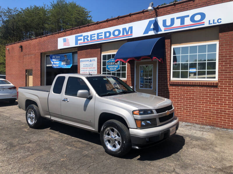 2009 Chevrolet Colorado for sale at FREEDOM AUTO LLC in Wilkesboro NC