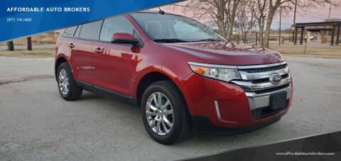 2013 Ford Edge for sale at AFFORDABLE AUTO BROKERS in Keller TX