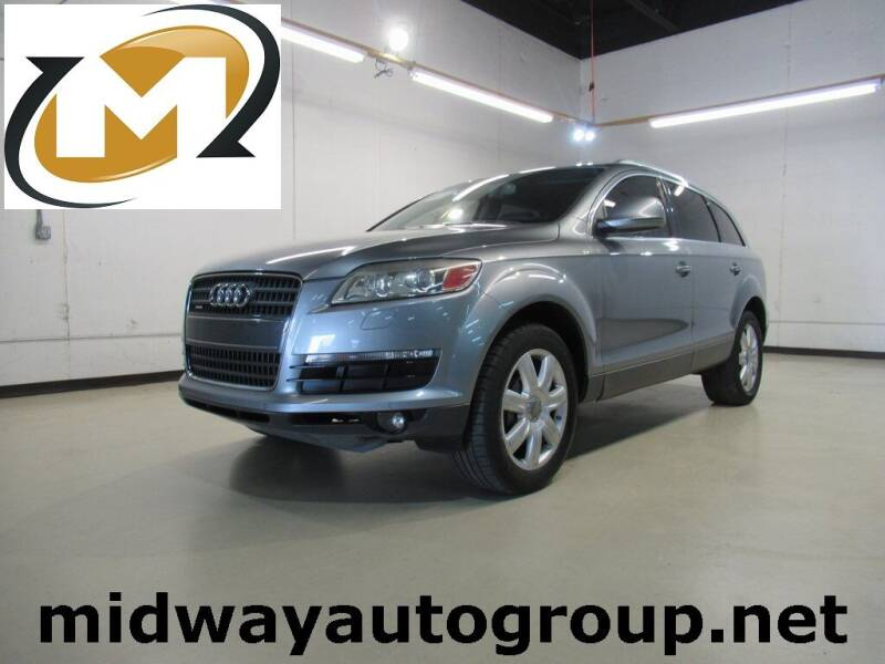 2008 Audi Q7 for sale at Midway Auto Group in Addison TX