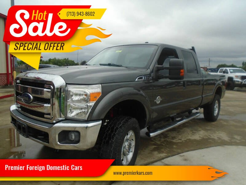 2015 Ford F-350 Super Duty for sale at Premier Foreign Domestic Cars in Houston TX
