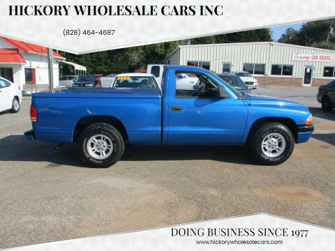 2000 Dodge Dakota for sale at Hickory Wholesale Cars Inc in Newton NC