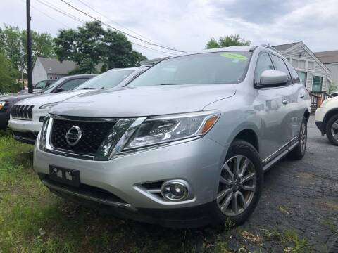 2014 Nissan Pathfinder for sale at Top Line Import in Haverhill MA