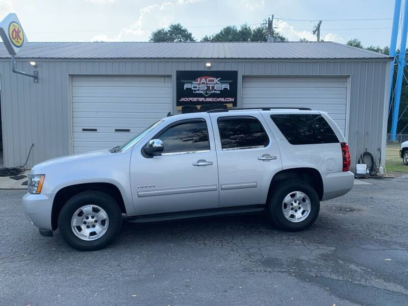 2014 Chevrolet Tahoe for sale at Jack Foster Used Cars LLC in Honea Path SC