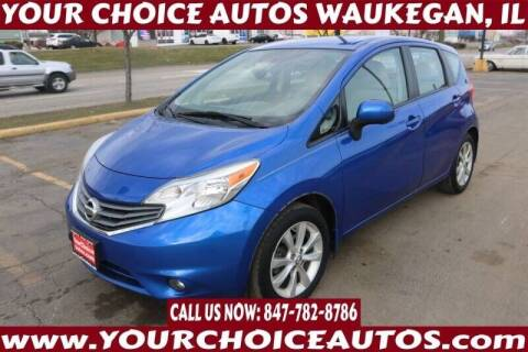 2014 Nissan Versa Note for sale at Your Choice Autos - Waukegan in Waukegan IL