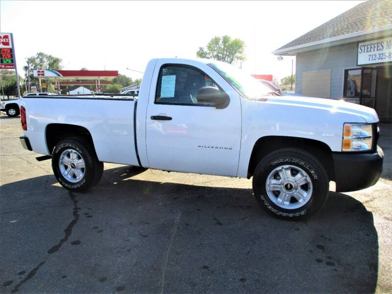 2012 Chevrolet Silverado 1500 for sale at Steffes Motors in Council Bluffs IA