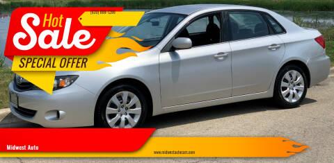 2010 Subaru Impreza for sale at Midwest Auto in Naperville IL