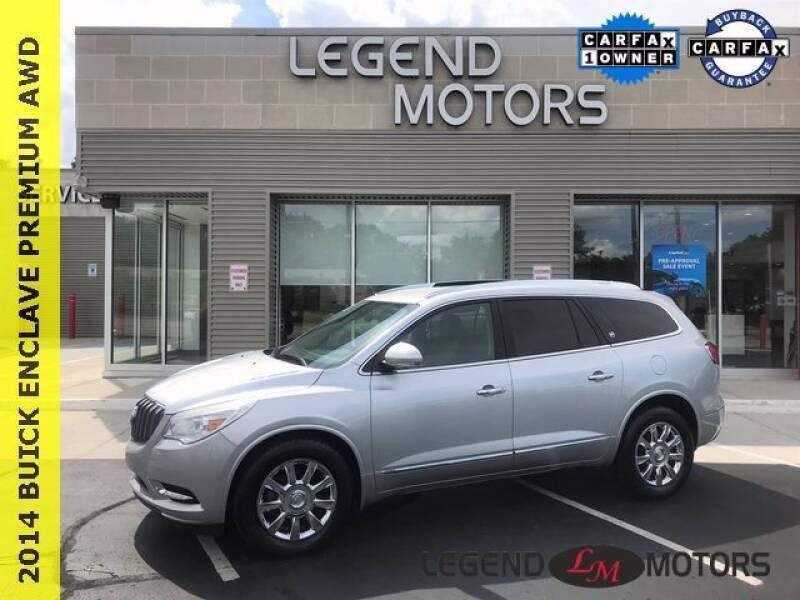 2014 Buick Enclave for sale at Legend Motors of Detroit in Detroit MI