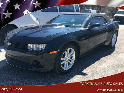 2015 Chevrolet Camaro for sale at Torx Truck & Auto Sales in Eads TN