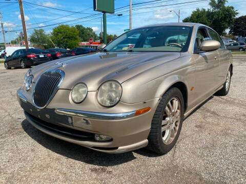 2003 Jaguar S-Type for sale at GREENLIGHT AUTO SALES in Akron OH