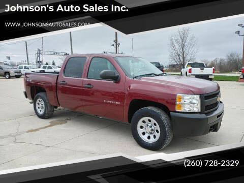 2013 Chevrolet Silverado 1500 for sale at Johnson's Auto Sales Inc. in Decatur IN