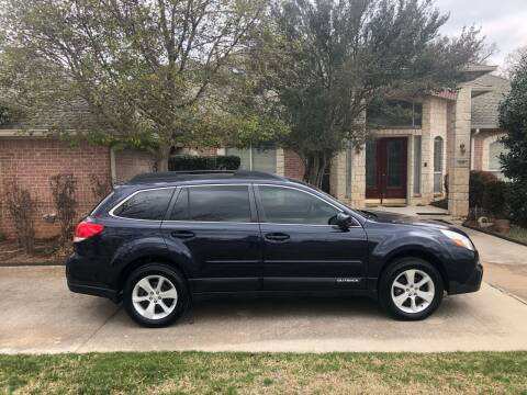 2014 Subaru Outback for sale at CHASE AUTOPLEX in Lancaster TX