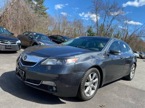 2012 Acura TL for sale at Royal Crest Motors in Haverhill MA