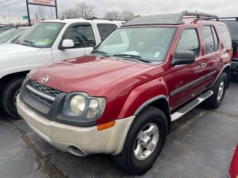 2004 Nissan Xterra for sale at Sartins Auto Sales in Dyersburg TN