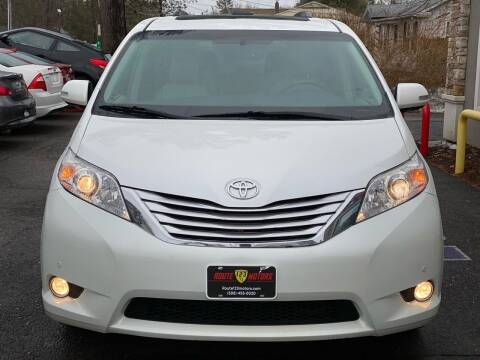 2014 Toyota Sienna for sale at Route 123 Motors in Norton MA