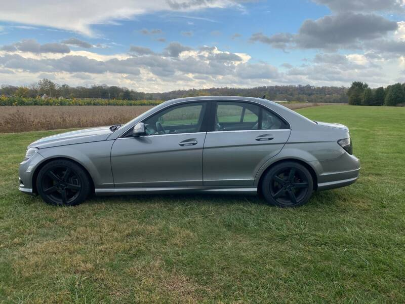 2008 Mercedes-Benz C-Class for sale at Wendell Greene Motors Inc in Hamilton OH