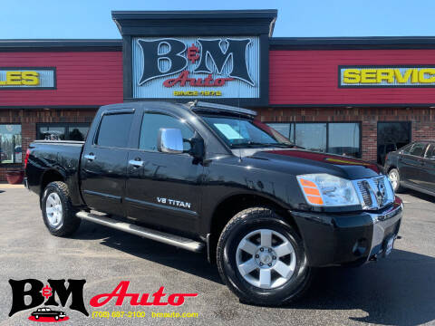 2006 Nissan Titan for sale at B & M Auto Sales Inc. in Oak Forest IL