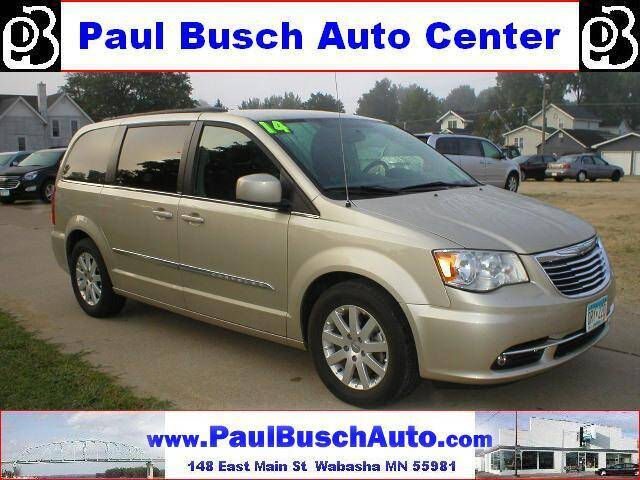 2014 Chrysler Town and Country for sale at Paul Busch Auto Center Inc in Wabasha MN