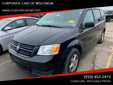 2010 Dodge Grand Caravan for sale at CORPORATE CARS OF WISCONSIN - DAVES AUTO SALES OF SHEBOYGAN in Sheboygan WI