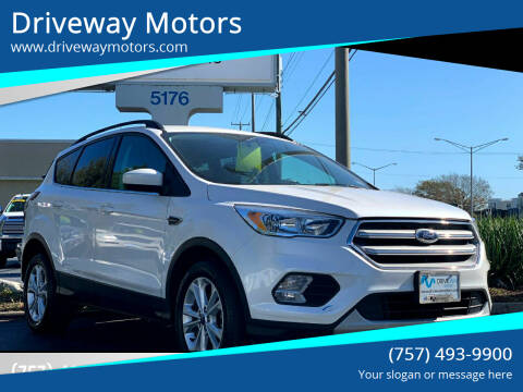2018 Ford Escape for sale at Driveway Motors in Virginia Beach VA