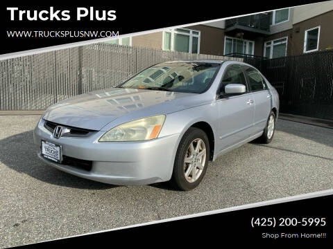 2004 Honda Accord for sale at Trucks Plus in Seattle WA