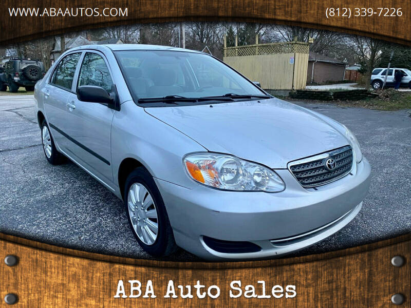2008 Toyota Corolla for sale at ABA Auto Sales in Bloomington IN